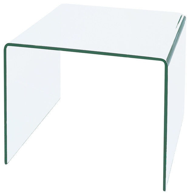 accent chairs under 150 2 chair cover hire north east england waterfall bent glass end table - contemporary side tables and by bh design