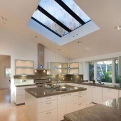 Kitchen Skylights Cabinet Planner Lighting Around Skylight An Ideabook By Temont Modern Mark Pinkerton Vi360 Photography
