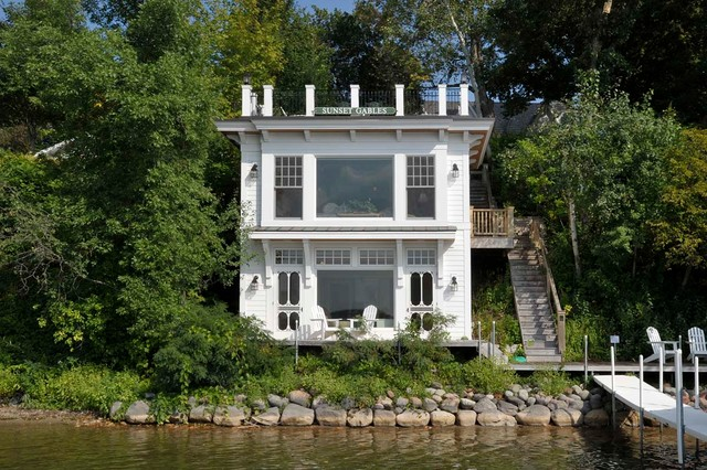 Boat House Traditional Exterior Minneapolis By Sharratt