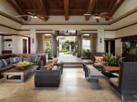 Applegate Tran Interiors - Tropical - Living Room - Hawaii ...
