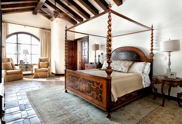 lake conroe spanish - mediterranean - bedroom - austin - by