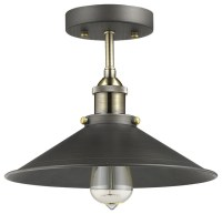 Industrial Flush Mount Lighting - Bestsciaticatreatments.com