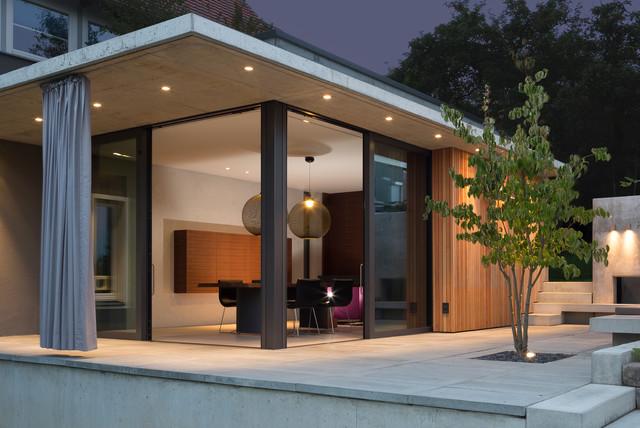 Haus mit Anbauten