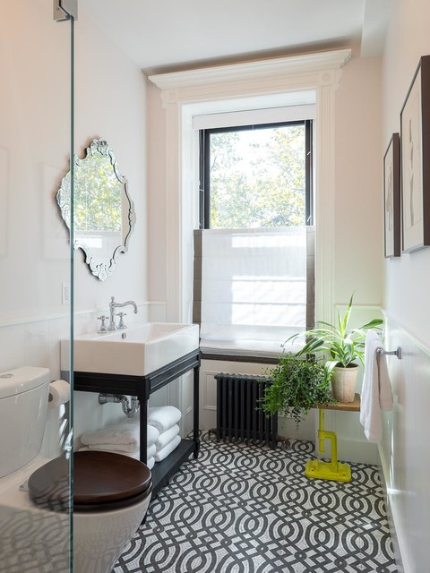 Park Slope Brooklyn Brownstone  Transitional  Bathroom