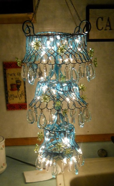 DIY Outdoor Chandelier for Gazebo  Eclectic  Other
