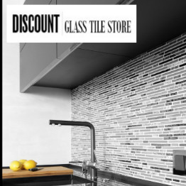 discount glass tile store project