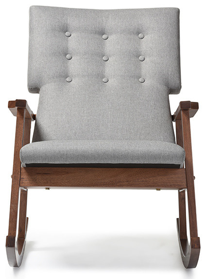 Shop Houzz  Baxton Studio Agatha Fabric Upholstered