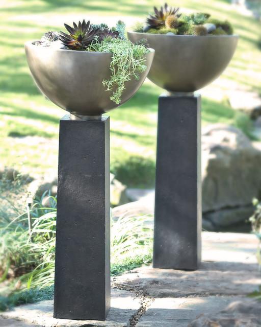 modern planter - contemporary