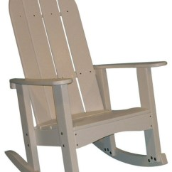 Cedar Rocking Chairs Chair Covers For Wedding Sale Tailwind Round Back Adirondack Rocker By White