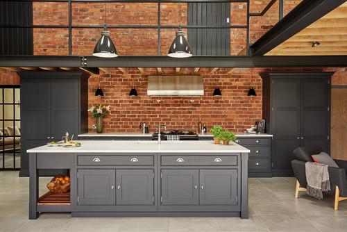 Industrial shaker kitchen