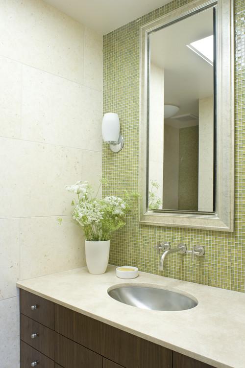how to tile a bathroom on a budget