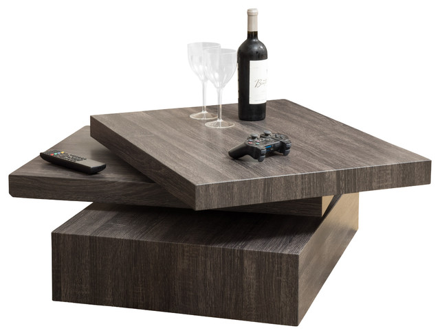 Haring Square Rotating Coffee Table