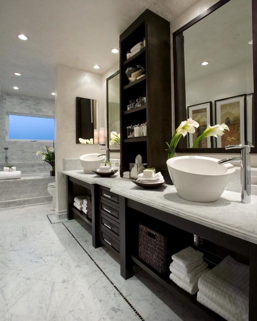 bathrooms - transitional - bathroom - orange county - by wam