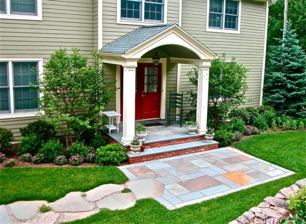 front yard delight - transitional