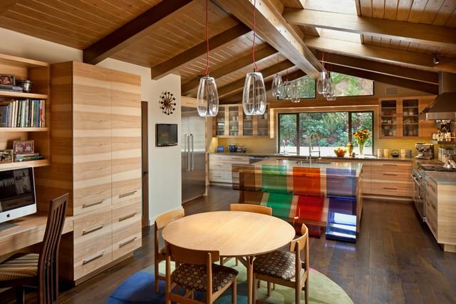 MidCentury Modern Ranch  Midcentury  Kitchen  Los
