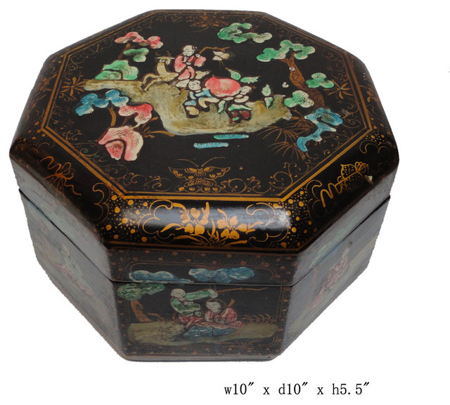 Oriental Boxes Decorative