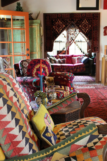 Julies Houzz  Eclectic  Living Room  Los Angeles  by