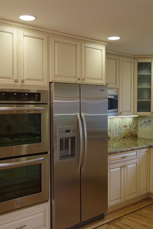 Love the kitchen What size cabinet are the Kitchenaid