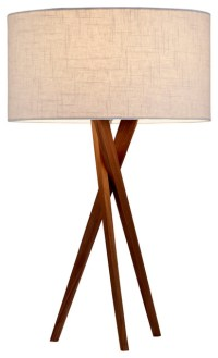 Brooklyn Table Lamp - Midcentury - Table Lamps - by Adesso