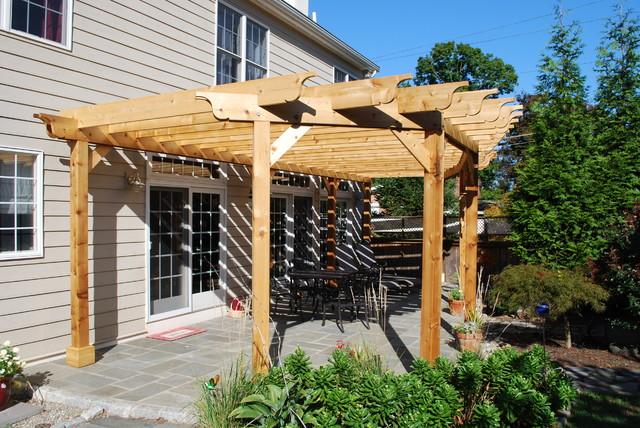 Backyard Shade Structure