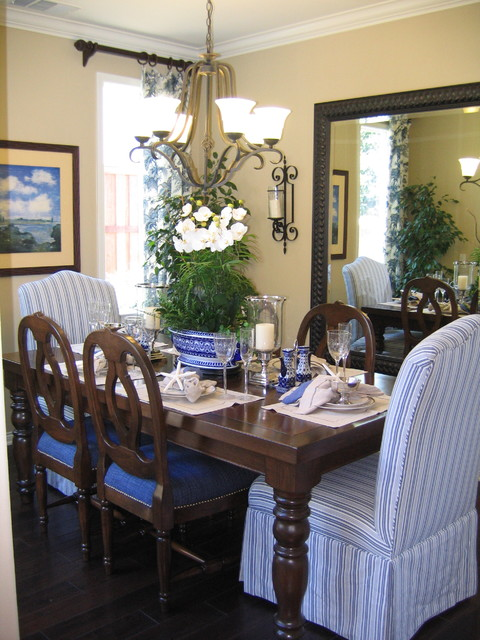 Coastal Inspired dining room  Traditional  Dining Room