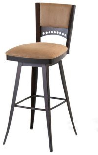 Comfortable Swivel Stool, Counter Seat Height 26