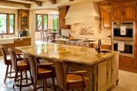 Stunning Kitchen Granite Counter Island - Traditional ...