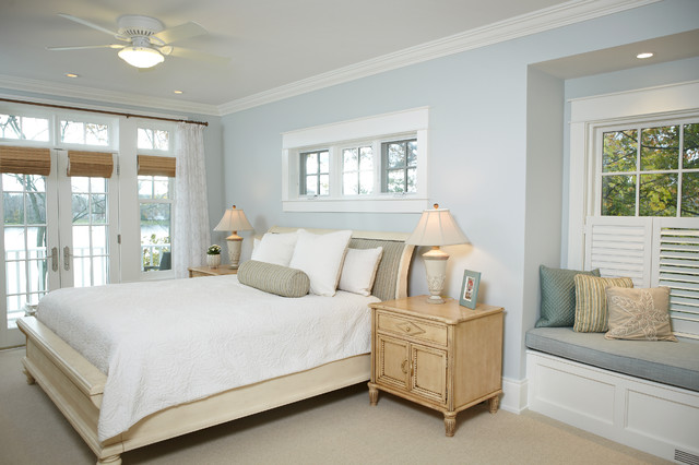 Michigan Lake House Traditional Bedroom Grand Rapids By