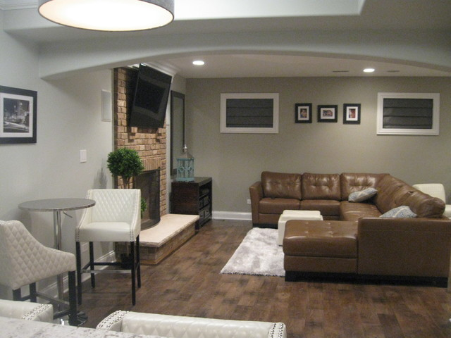 contemporary leather dining chairs folding table and set in india finished basement - chicago