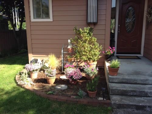 Update A Garden Bed By Front Door