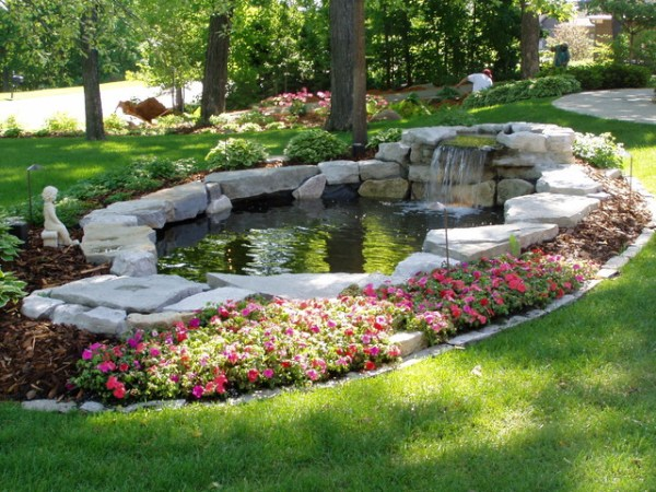 waterfalls & ponds - traditional