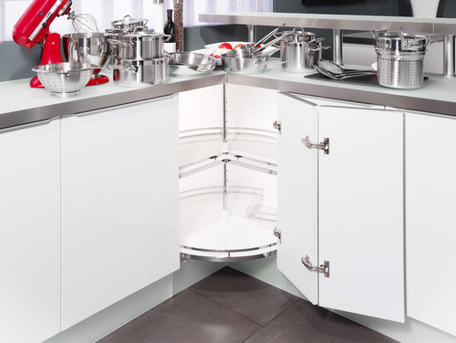 What to do for kitchen corner cabinets