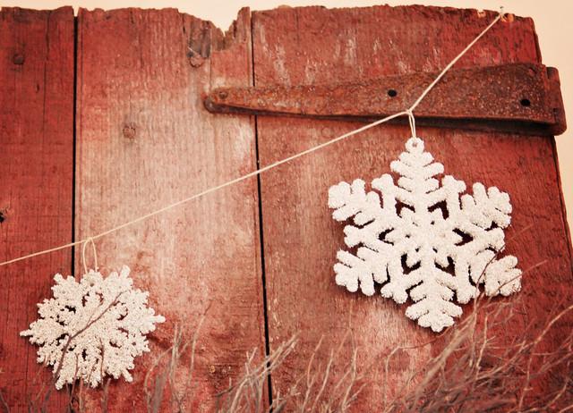 2010 Christmas Decor eclectic