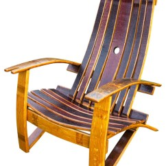 Barrel Stave Adirondack Chair Plans Hanging Egg With Stand Nz Wine Cover Rustic Chairs