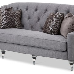 Emma Tufted Sofa Top Rated Companies Studio Adele In Gray Traditional Sofas By Mason