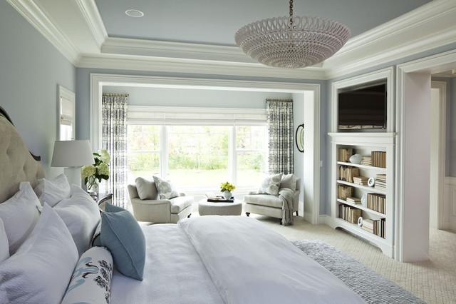 Parkwood Road Residence Master Bedroom Traditional Bedroom
