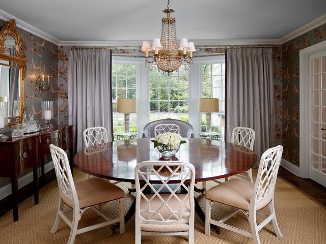 English Manor Renovation  Traditional  Dining Room