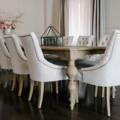 Farmhouse Glam Living Room Wall Decorating Ideas For Small Restoration Hardware Inspired Diy Wainscoting & Chair Rail ...