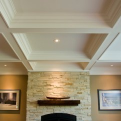 Mid Range Kitchen Cabinets Chalkboards For Coffered Ceiling/box Beam Mantle/wainscoting
