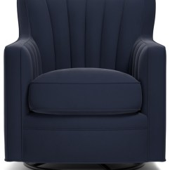 Swivel Arm Chairs Inflatable Bubble Chair Argos Zerk Navy Blue Velvet Contemporary Armchairs And Accent By Handy Living
