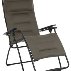 Lafuma Futura Xl Zero Gravity Chair Rocking Woodworking Plans Recliner Contemporary Outdoor Lounge Chairs By Mobilier