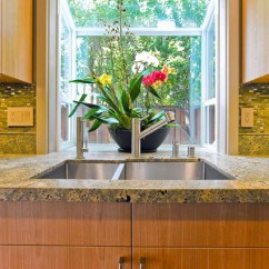 Kitchen Greenhouse Window Space Saving Tables Sink With Bay