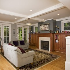 Living Room Designs With Grey Sofas Curtains Pictures For Palo Alto Craftsman - San ...