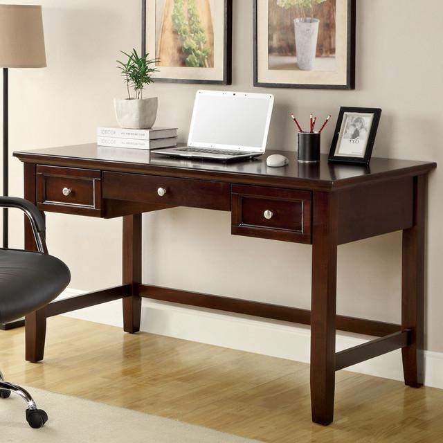Furniture of America Margerie Dark Cherry Computer Desk