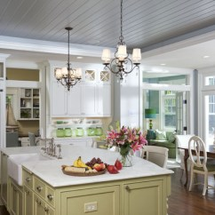 Kitchen Ceilings Storage Organizers Renovation Detail Tongue And Groove Traditional By Rlh Studio