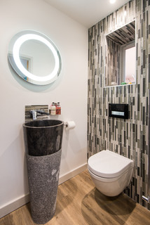 75 Most Popular Small Cloakroom Design Ideas For October 2020 Stylish Small Cloakroom Remodeling Pictures Houzz Uk