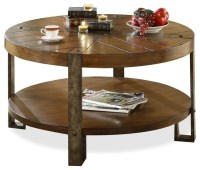 Sierra Round Cocktail Table - Transitional - Coffee Tables ...