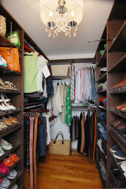 Small Walkin Closet Annapolis  Contemporary  Closet