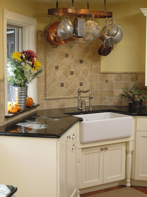 pottery barn kitchen rugs themed bridal shower country farmhouse sink
