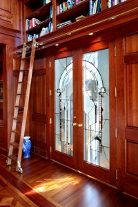 Library Ladder - Traditional - Home Office - minneapolis ...